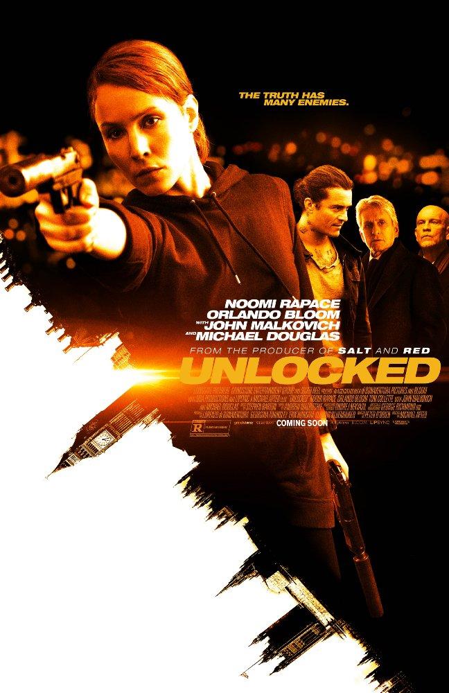 Unlocked (2017) Movie Poster