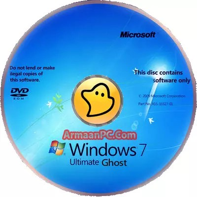 Ghost Windows 7 32 BIT