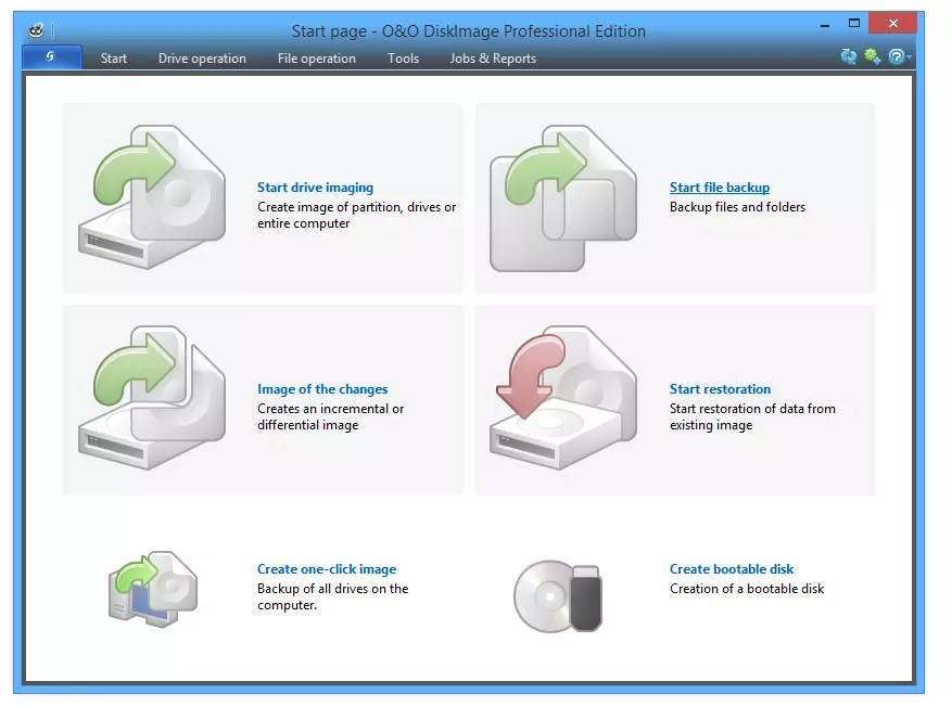 A good program from a well-known software developer who can back up the information you need, and does it as a disk image, also knows how to completely clone hard disks, you can download O & O DiskImage below.