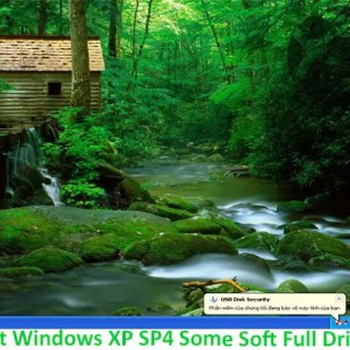 Ghost Windows XP SP4 Some Soft Full Driver -2017