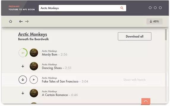 Freemake YouTube To MP3 Boom 1.0.5.1