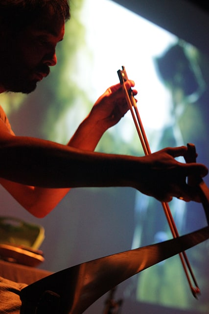 Photo d'un musicien