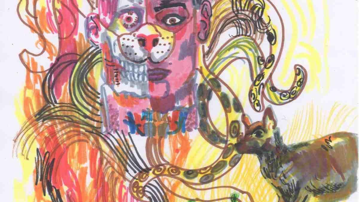 Illustration Mercredi - Dessin d'Angelo