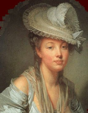 Illustration Mercredi - Portait d'une femme en peinture