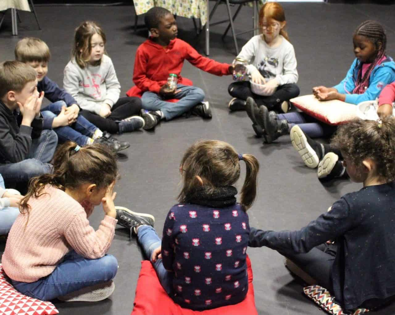 Photo / enfants à La Casba