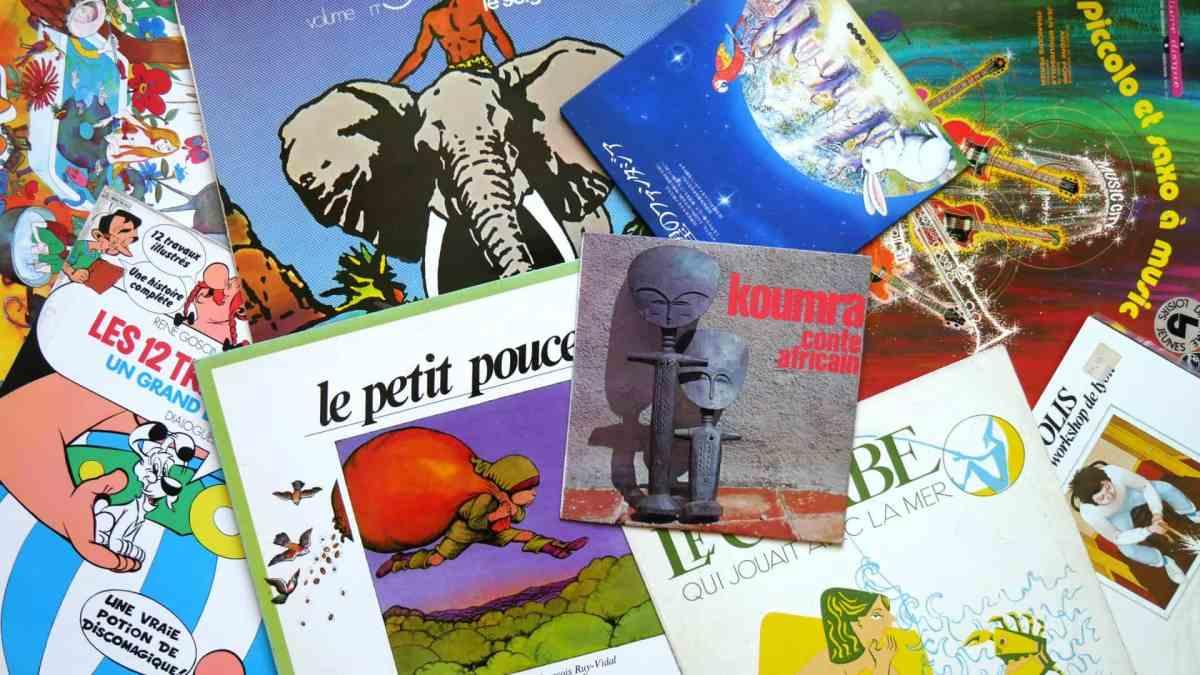 Photo / disques vinyles