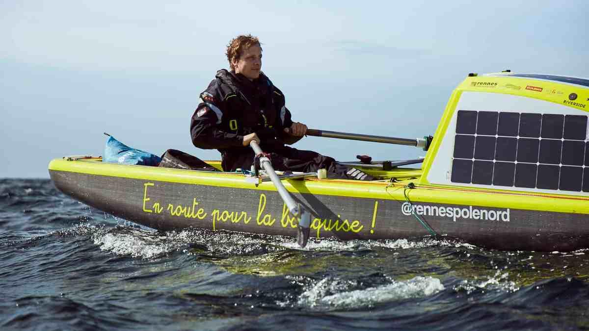 Photo de l'expédition Rennes Pôle Nord