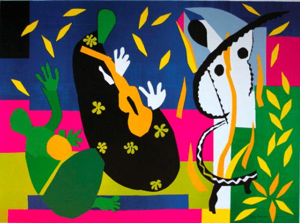 La tristesse du roi de Matisse