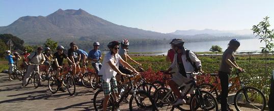 Paket Outing di Bali – Kedisan Kintamani Cycling & Rafting