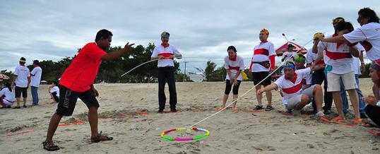Outbound di Bali – Pantai Tanjung Benoa