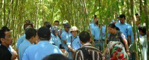 Outbound Bali Bangli Desa Pengelipuran Penyuluhan Bambu