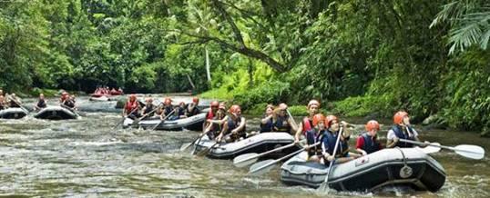 Rafting di Bali – Bali Easy Rafting Telaga Waja