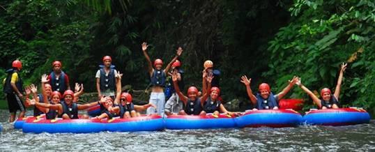 Tubing di Bali River Tubing 012016