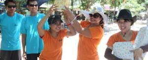 Team Building di Bali - Pantai Mertasari Sanur - Juara