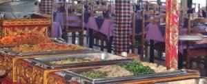 VW Safari di Bali Makan Siang di Puncak Sari Buffet