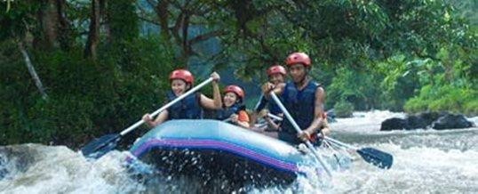 Wisata Adventure Bali Puri Rafting Sungai Ayung