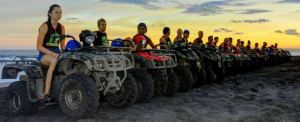 ATV Wake Bali Adventure Sunset