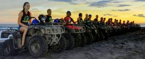 ATV Wake Bali Adventure Sunset