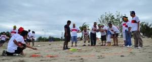 Outbound Bali Game Pantai