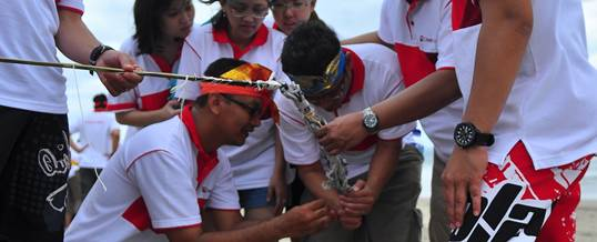 Outbound Bali Kuta Game