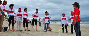 Outbound Bali Pantai Kuta Game
