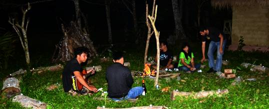 Paket Outing di Bali Campfire