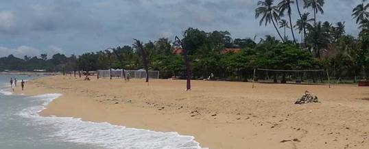 Helipad at Grand Bali Beach