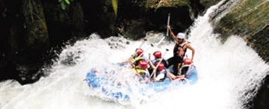 Paket Rafting Bali Melangit