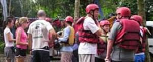 Rafting Bali Telaga Waja Briefing
