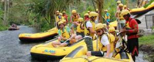 Rafting Telaga Waja Alam Start Point