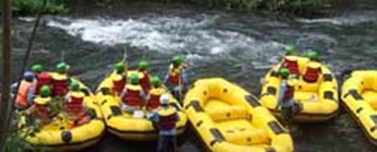 Telaga Waja Rafting Bali Start Point