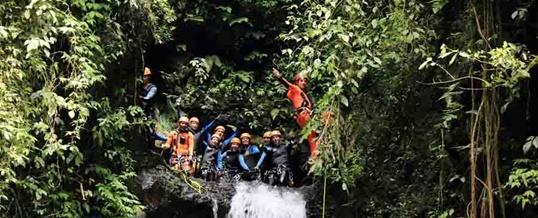 Adventure Canyoning Bali