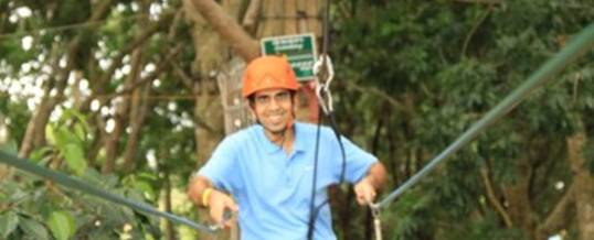 Adventure Forest Singapore Flying Fox