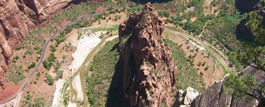 Angels Landing in Zion National Park 1