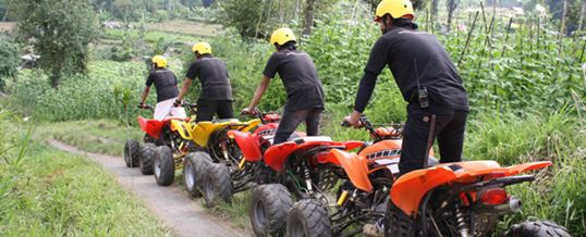 Paket Outbound di Bali - The Sila's Agrotourism ATV 05 2015