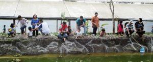 Paket Outbound di Bali - The Sila's Agrotourism Fishing 08 2015