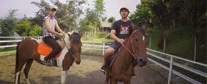 Paket Outbound di Bali - The Sila's Agrotourism Horse Riding 06 2015