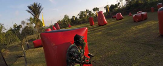 Paket Outbound di Bali - The Sila's Agrotourism Paintball 02 2015