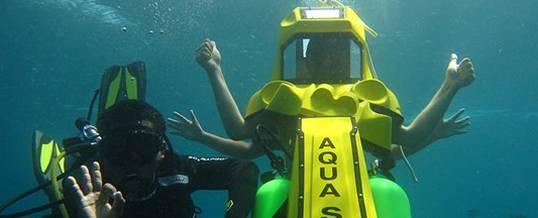 Adventure Underwater Scooter Bali