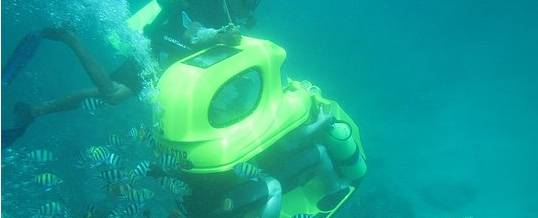 Adventure Underwater Scooter Easy to drive