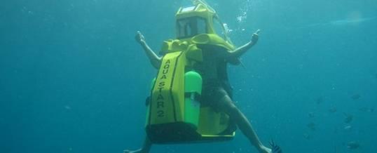Underwater Scooter Tanjung Bali