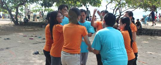 Outbound Bali Pridia Yell