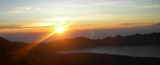 Trekking Di Bali Sunrise