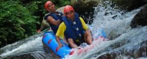 Tubing Bali River Tandem