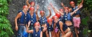 Tubing Bali Waterfall