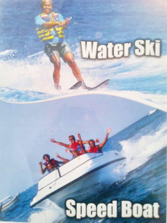 Water Sport Adventure Water Ski & Speed Boat