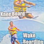 Water Sport Knee Boat & Wake Boarding Bali