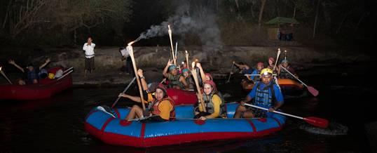Paket Rafting di Bali Adventure Malam Hari