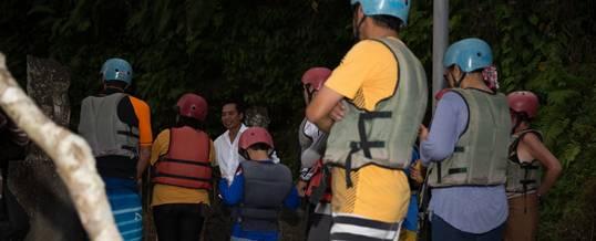 Bali Rafting Malam Suangi Ayung - Starting Point