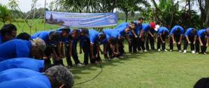 Outbound Bali Ubud Camp Bongkasa Ice Breaking
